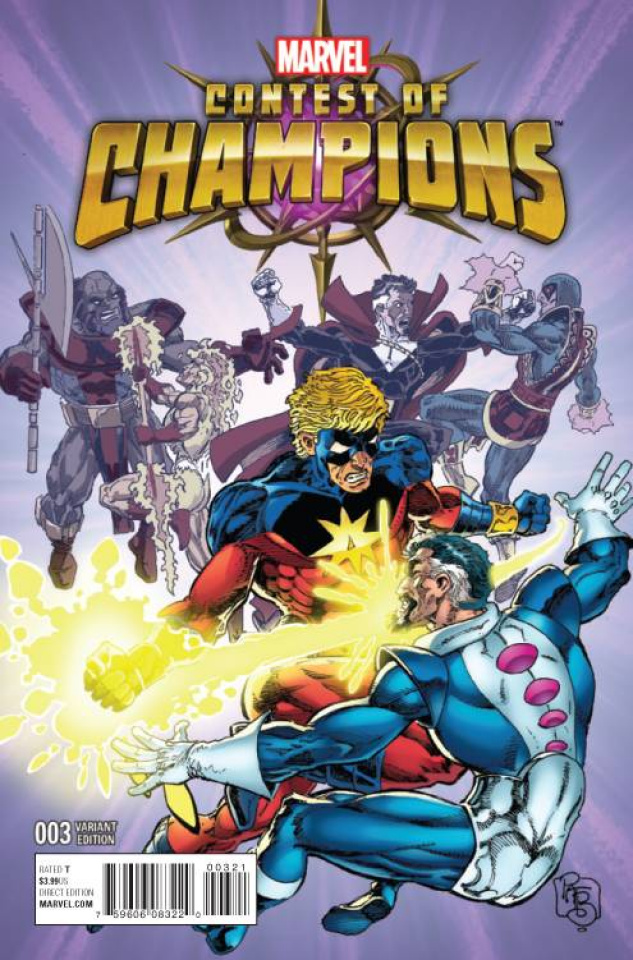 Contest of Champions #3 (Classic Cover)