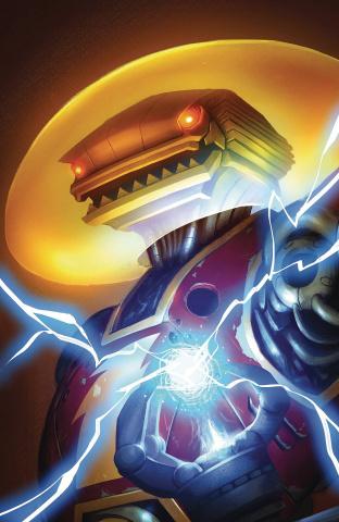 Go, Go, Power Rangers! #18 (Convention Cover)