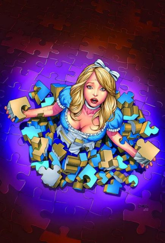Grimm Fairy Tales: Alice in Wonderland #4 (Chen Cover)