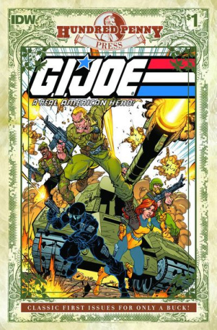G.I. Joe: A Real American Hero #1 (100 Penny Press Edition)