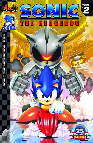 Sonic the Hedgehog #289 (Spaziante Cover)