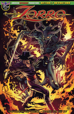 Zorro: Swords of Hell #3 (Martinez Cover)