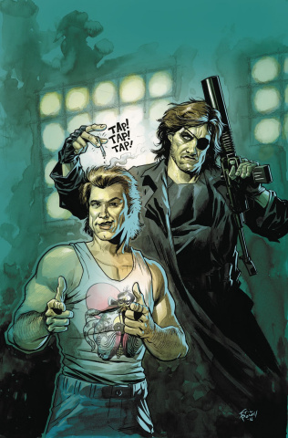 Big Trouble in Little China / Escape from New York #3 (Subscription Powell Cover)