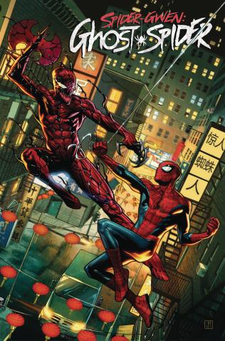 Spider-Gwen: Ghost Spider #6 (Molina Spider-Man Villains Cover)