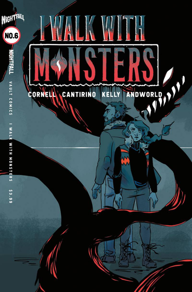 I Walk With Monsters #6 (Hickman Cover)