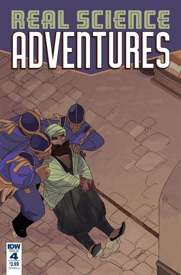Real Science Adventures: Nicodemus Job #4 (McClaren Cover)