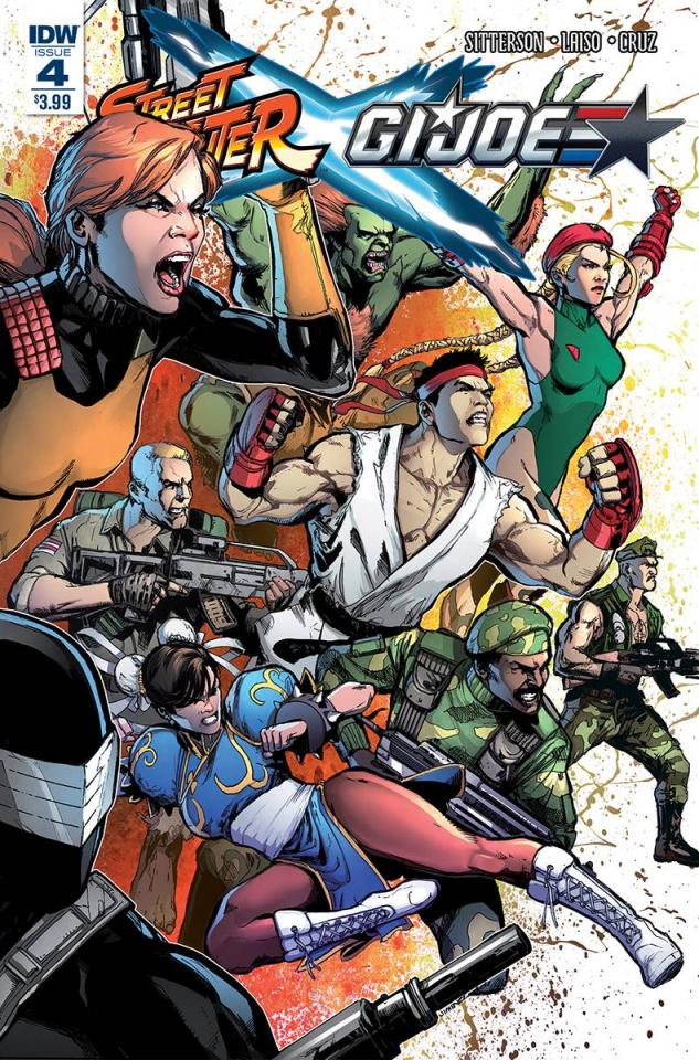 Street Fighter X G.I. Joe #4
