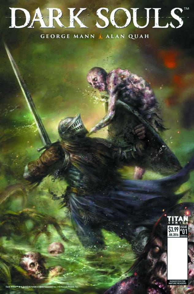 Dark Souls: Winter's Spite #1 (Percival Cover)