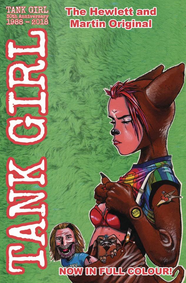 Tank Girl: Full Color Classics #4 (1991-92 Hewlett Cover)