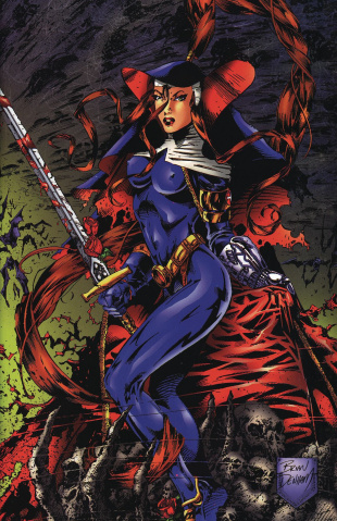 Warrior Nun #1 (1997 Commemorative Cover)