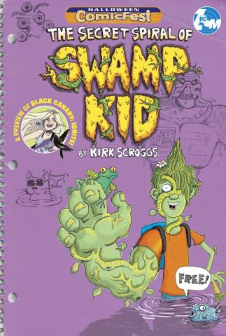 The Secret Spiral of Swamp Kid (Halloween Comic Fest)