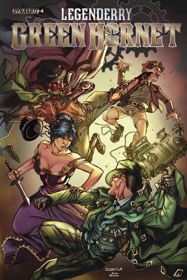 Legenderry: Green Hornet #4