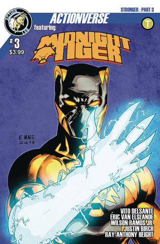 Midnight Tiger: Stronger #3
