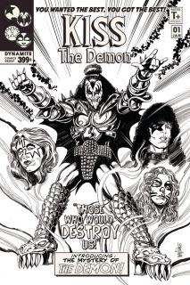 KISS: The Demon #1 (15 Copy Mandrake B&W Cover)
