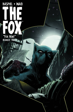 The Fox #3 (T.Rex Hunter & Prey Cover)