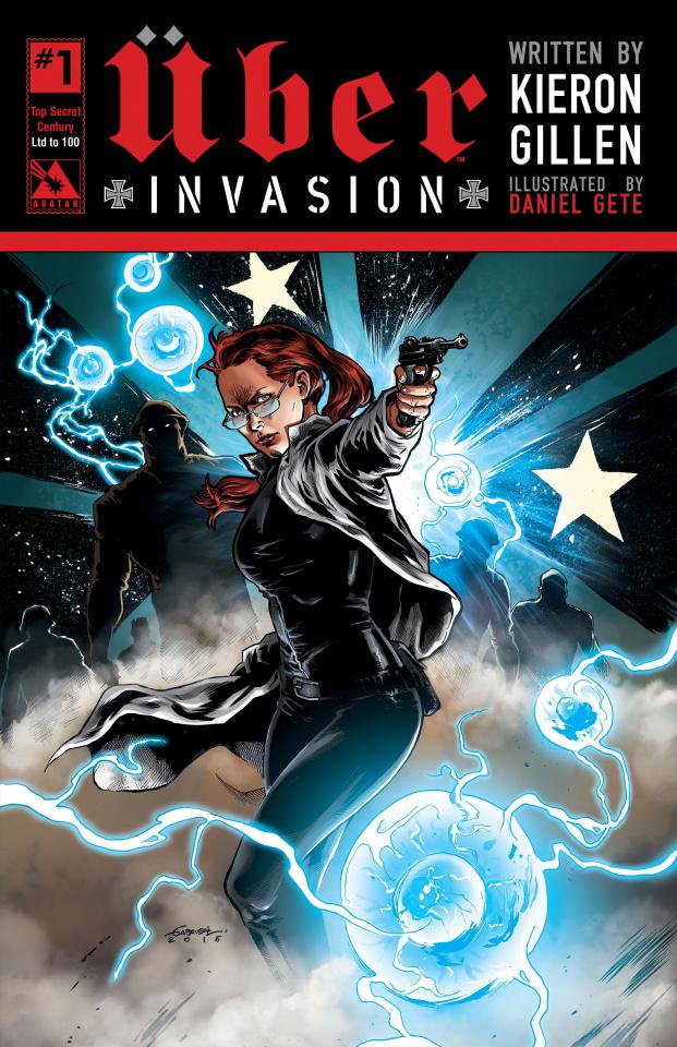Über: Invasion #1 (Century Top Secret Cover)