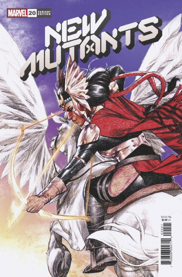New Mutants #20 (Go Cover)