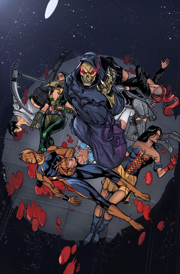 Grimm Fairy Tales: Apocalypse #5 (Cuffari Cover)
