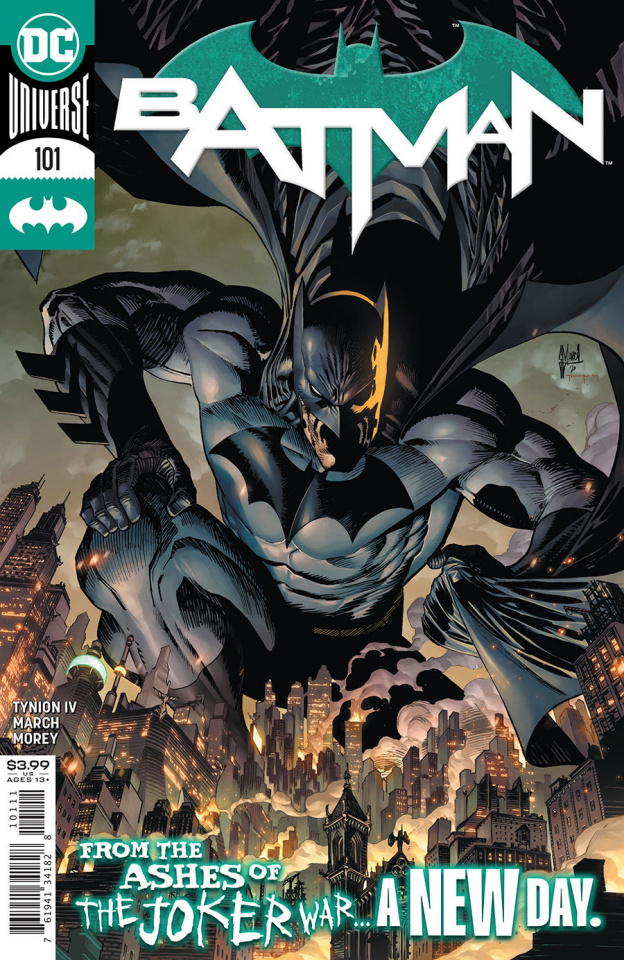 Batman #101 (Guillem March Cover)