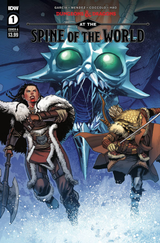 Dungeons & Dragons: At the Spine of the World #1 (Coccolo Cover)