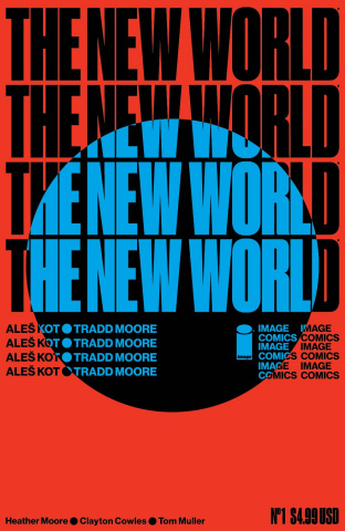 The New World #1 (Muller Cover)