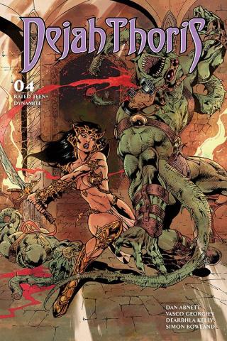 Dejah Thoris #4 (Castro Bonus Cover)