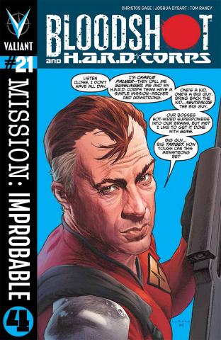 Bloodshot & H.A.R.D. Corps #21 (Larosa Cover)