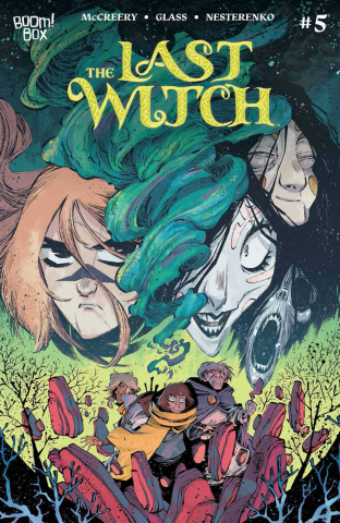 The Last Witch #5 (Corona Cover)