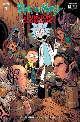 Rick and Morty vs. Dungeons & Dragons #1 (25 Copy Cover)