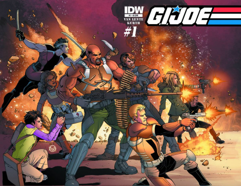 G.I. Joe #1 (10 Copy Cover)