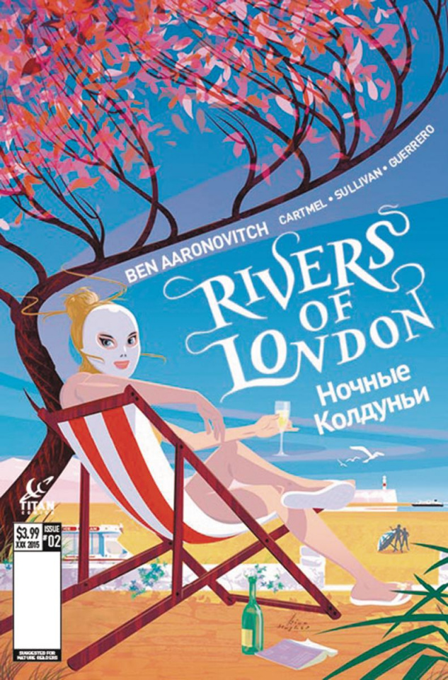 Rivers of London: The Night Witch #5 (Hughes Cover)
