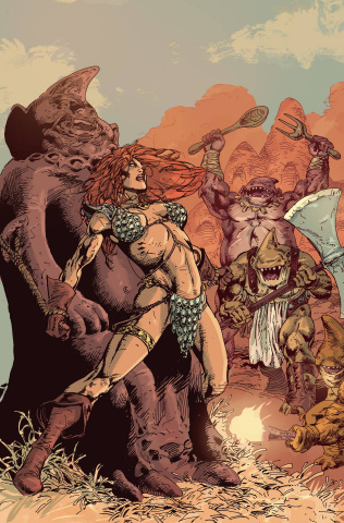 Red Sonja #23 (15 Copy Castro Virgin Cover)