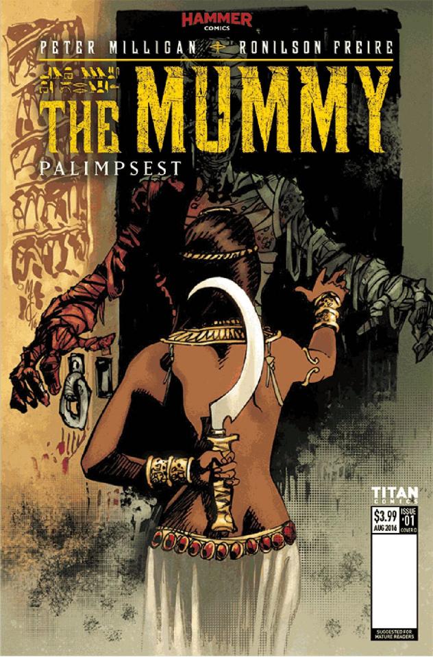 The Mummy #4 (McCrea Cover)