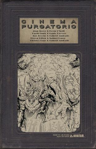 Cinema Purgatorio #17 (Ancient Tome Premium Cover)