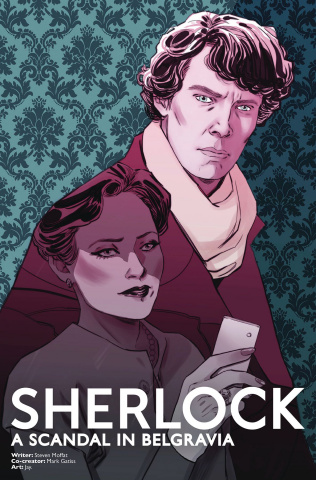 Sherlock: A Scandal in Belgravia #2 (Sauvage Cover)