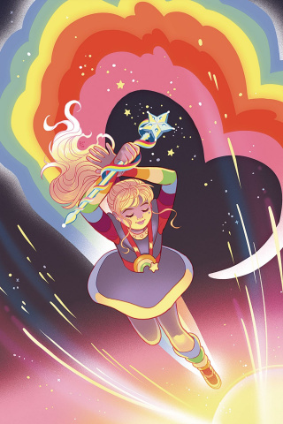 Rainbow Brite #3 (10 Copy Ganucheau Virgin Cover)