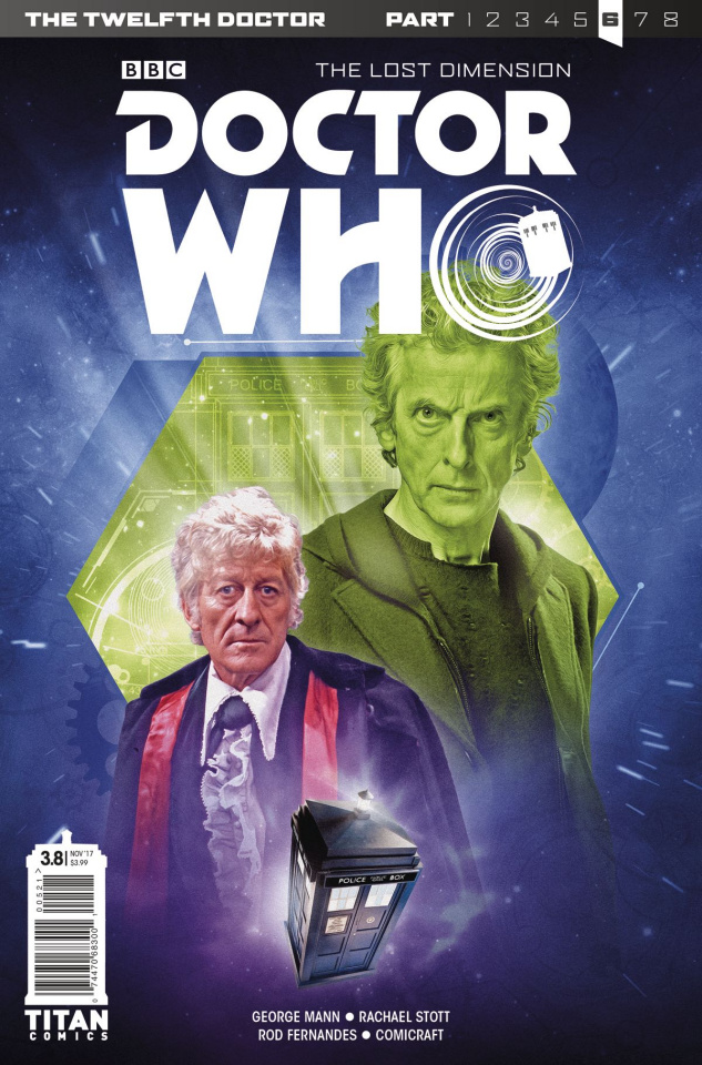 Doctor Who: New Adventures with the Twelfth Doctor, Year Three #8 (Photo Cover)