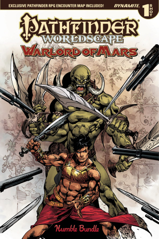 Pathfinder Worldscape: Warlord of Mars