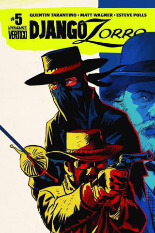 Django / Zorro #5 (Francavilla Cover)