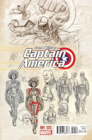 Captain America: Sam Wilson #1 (Acuna Cover)