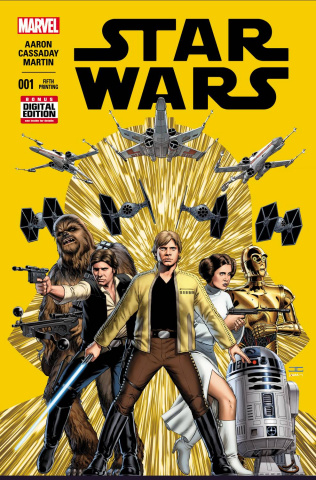 Star Wars #1 (Cassaday 5th Printing)