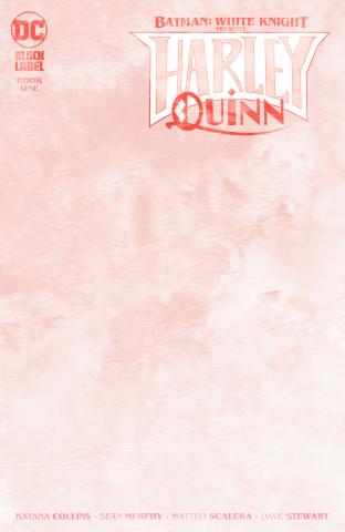 Batman: White Knight Presents Harley Quinn #1 (Blank Cover)