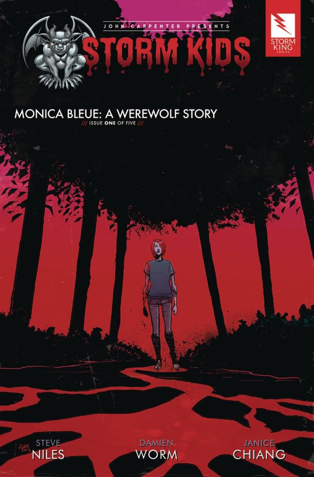 Storm Kids: Monica Bleue - A Werewolf Story #1