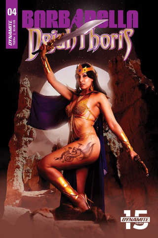 Barbarella / Dejah Thoris #4 (Cosplay Cover)