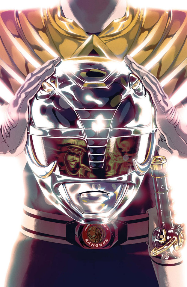 Mighty Morphin' Power Rangers #48 (Foil Montes Cover)
