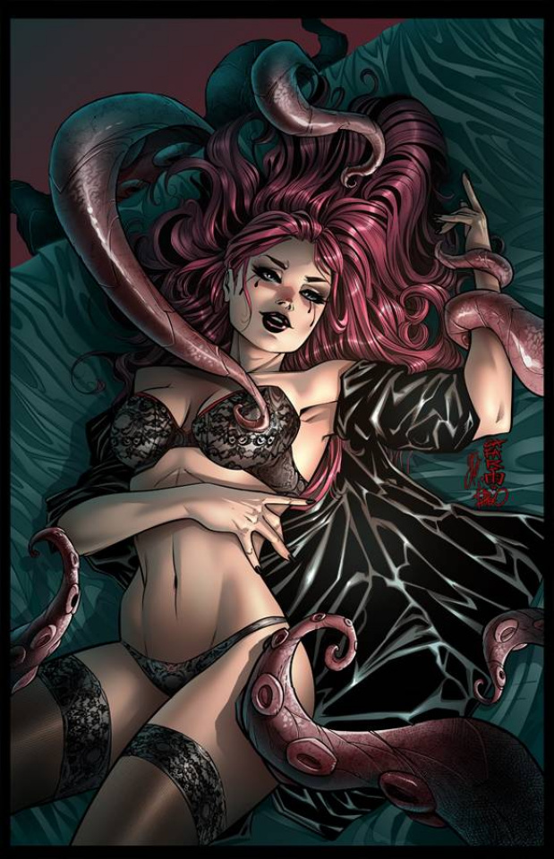 Grimm Fairy Tales: Grimm Tales of Terror #6 (Cafaro Cover)