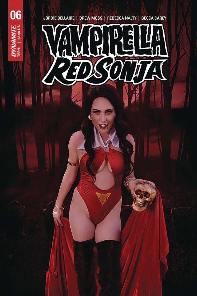 Vampirella / Red Sonja #6 (Cosplay Cover)