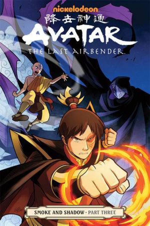 Avatar: The Last Airbender Vol. 12: Smoke & Shadow, Part 3