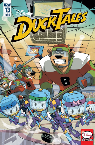 DuckTales #13 (Ghiglione Cover)