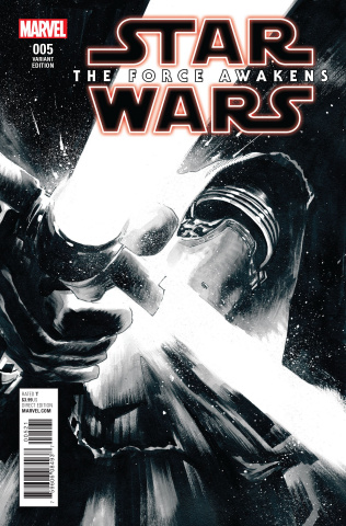 Star Wars: The Force Awakens #5 (Sketch Cover)